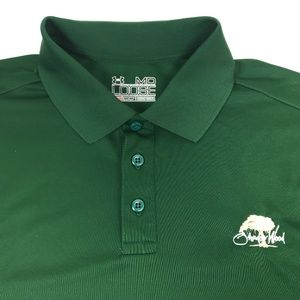 Under Armour Shadow Wood Green Loose Fit Golf Polo